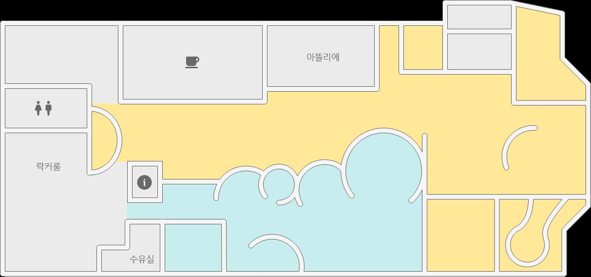 영아존 지도
